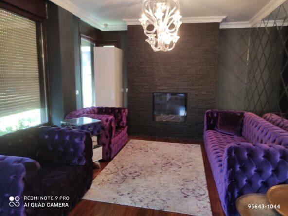 اجاره ویلا فول مبله سالانه در استانبول منطقه ساریر