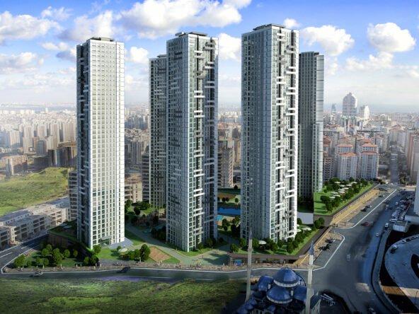 خرید آپارتمان در استانبول پروژه اودول استانبول