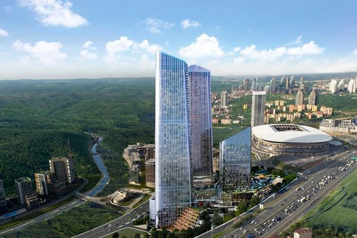 فروش آپارتمان در استانبول پروژه اسکای لند